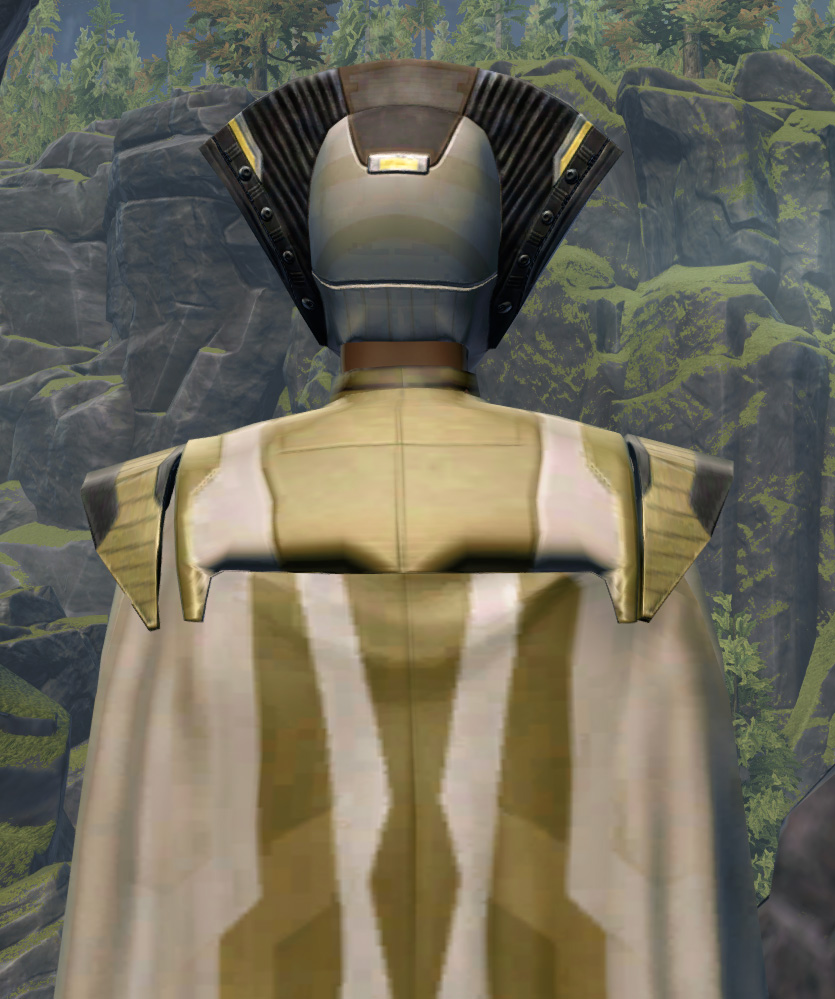 Voidmaster Armor Set detailed back view from Star Wars: The Old Republic.