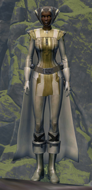 Voidmaster Armor Set Outfit from Star Wars: The Old Republic.