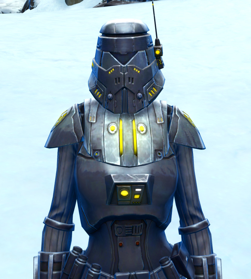 Volatile Shock Trooper Armor Set from Star Wars: The Old Republic.