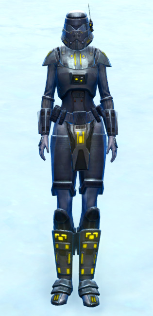 Volatile Shock Trooper Armor Set Outfit from Star Wars: The Old Republic.