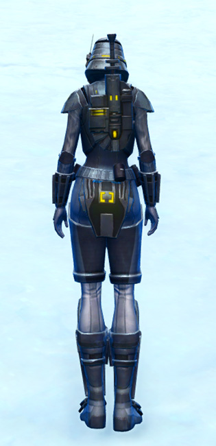 Volatile Shock Trooper Armor Set player-view from Star Wars: The Old Republic.