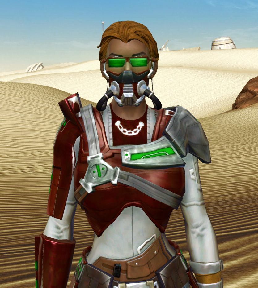 Voltaic Sleuth Armor Set from Star Wars: The Old Republic.