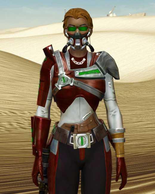 Voltaic Sleuth Armor Set Preview from Star Wars: The Old Republic.