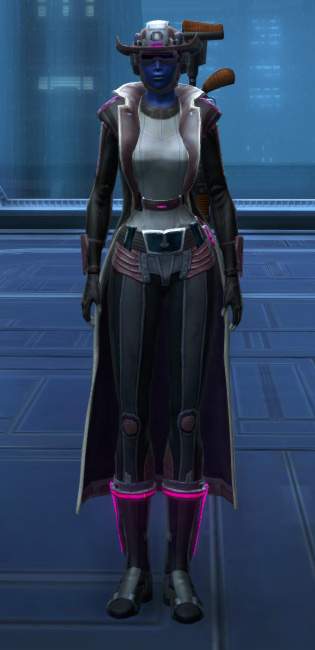 Voltaic Vandal Armor Set Outfit from Star Wars: The Old Republic.