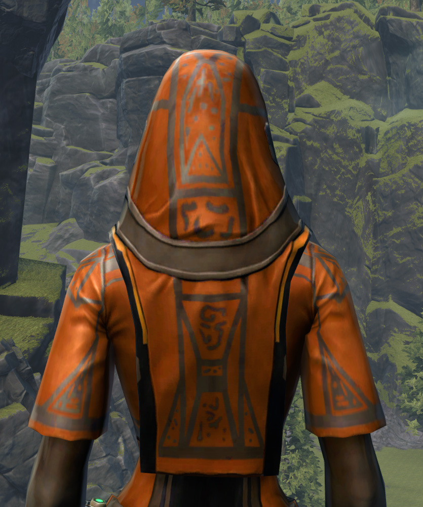 Voss Dignitary Armor Set detailed back view from Star Wars: The Old Republic.