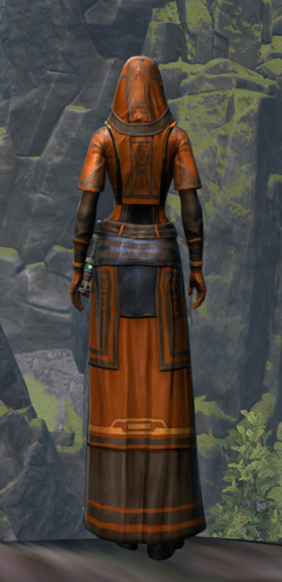 Voss Dignitary Armor Set player-view from Star Wars: The Old Republic.