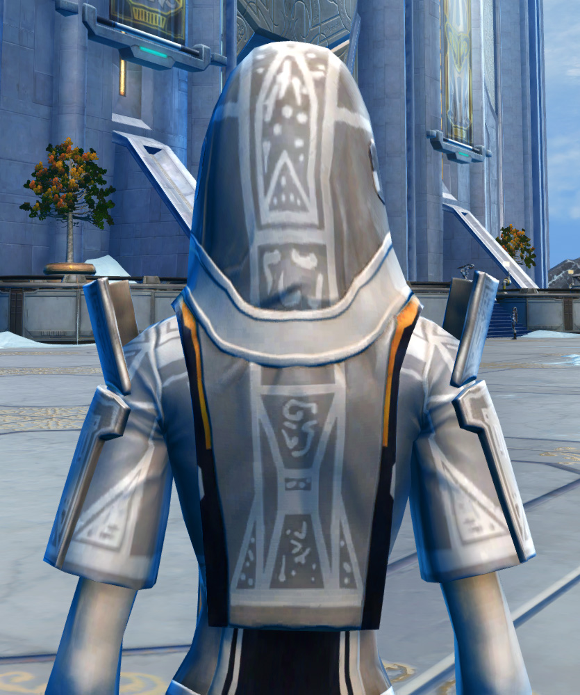 Voss Mystic Armor Set detailed back view from Star Wars: The Old Republic.