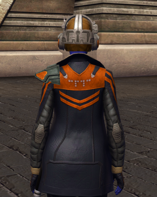 War-Forged MK-0 (Armormech) Armor Set Back from Star Wars: The Old Republic.