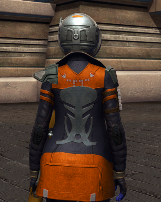 War-Forged MK-2 (Armormech) Armor Set Back from Star Wars: The Old Republic.