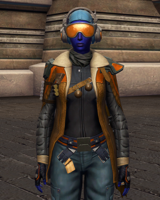 War-Forged MK-3 (Armormech) Armor Set Preview from Star Wars: The Old Republic.