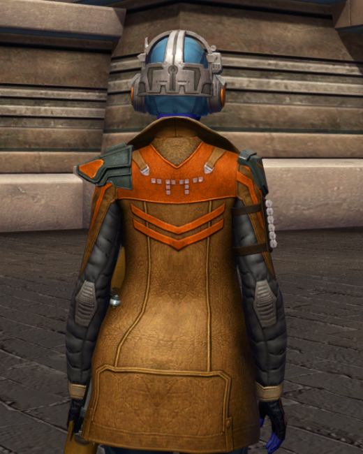 War-Forged MK-3 (Armormech) Armor Set Back from Star Wars: The Old Republic.