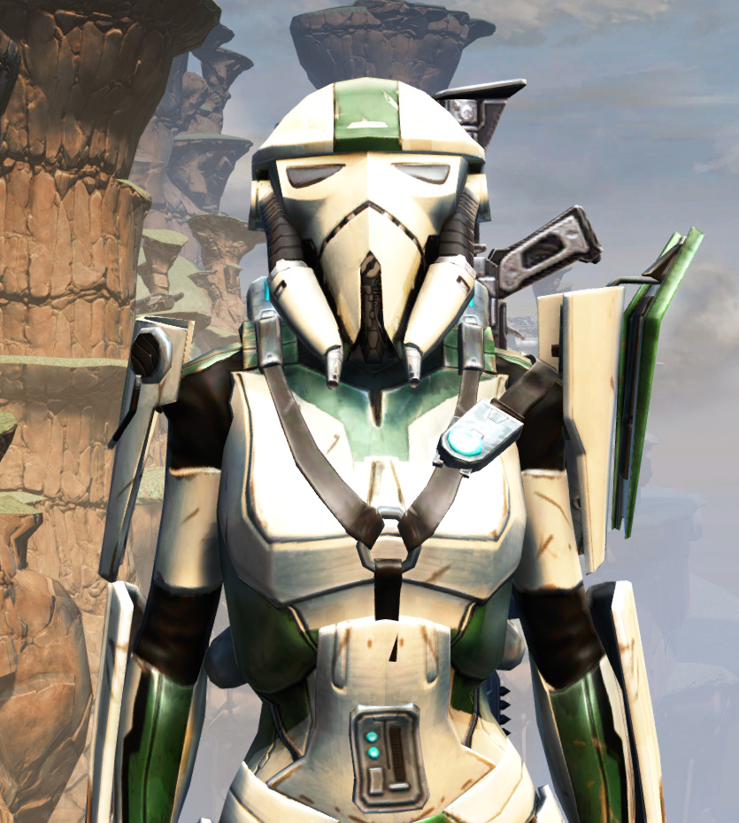 War Hero Eliminator Armor Set from Star Wars: The Old Republic.