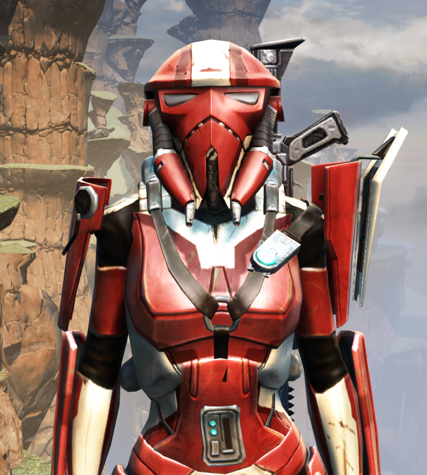 War Hero Combat Tech (Rated) Armor Set from Star Wars: The Old Republic.
