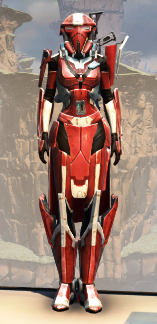 War Hero Combat Tech (Rated) Armor Set Outfit from Star Wars: The Old Republic.