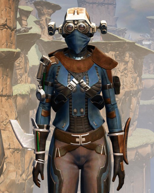 War Hero Field Tech Armor Set Preview from Star Wars: The Old Republic.