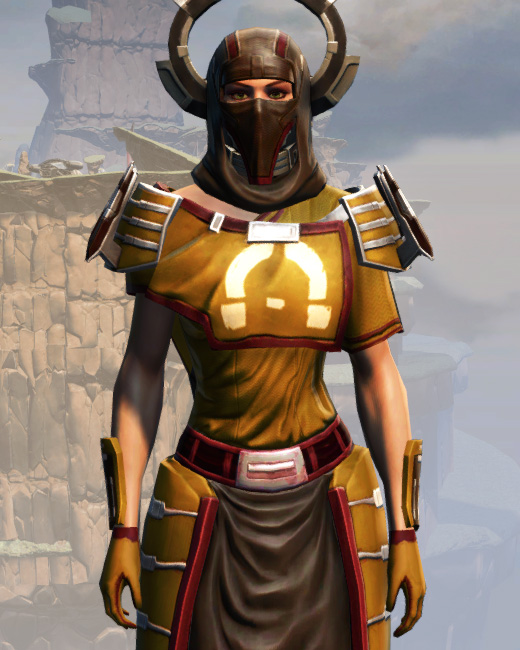 War Hero Force-Master (Rated) Armor Set Preview from Star Wars: The Old Republic.