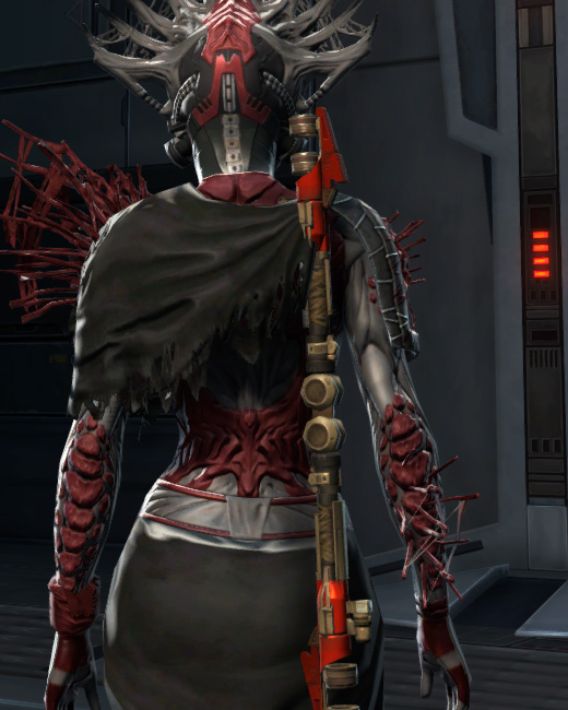 War Hero Survivor (Rated) Armor Set Back from Star Wars: The Old Republic.