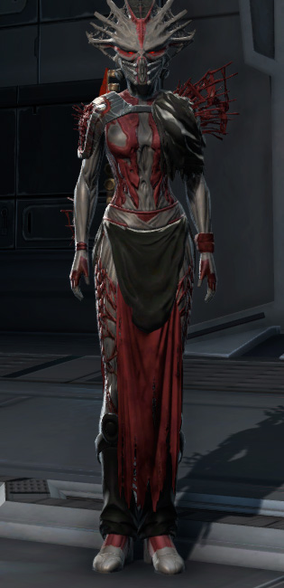 War Hero Survivor (Rated) Armor Set Outfit from Star Wars: The Old Republic.