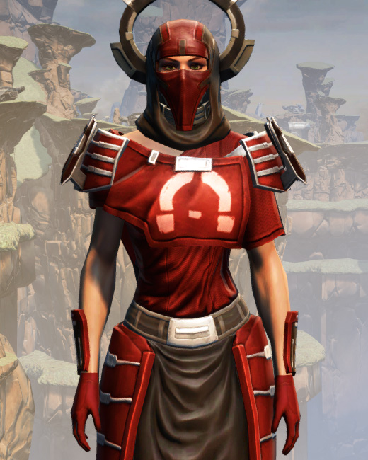 War Hero Stalker (Rated) Armor Set Preview from Star Wars: The Old Republic.