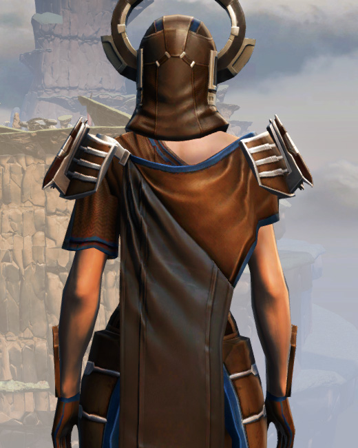 War Hero Survivor Armor Set Back from Star Wars: The Old Republic.