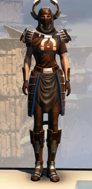 War Hero Survivor Armor Set Outfit from Star Wars: The Old Republic.