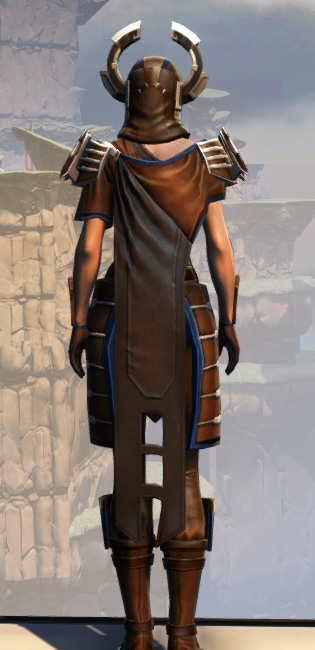 War Hero Survivor Armor Set player-view from Star Wars: The Old Republic.