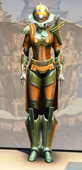 War Hero War Leader Armor Set Outfit from Star Wars: The Old Republic.