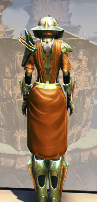 War Hero War Leader Armor Set player-view from Star Wars: The Old Republic.