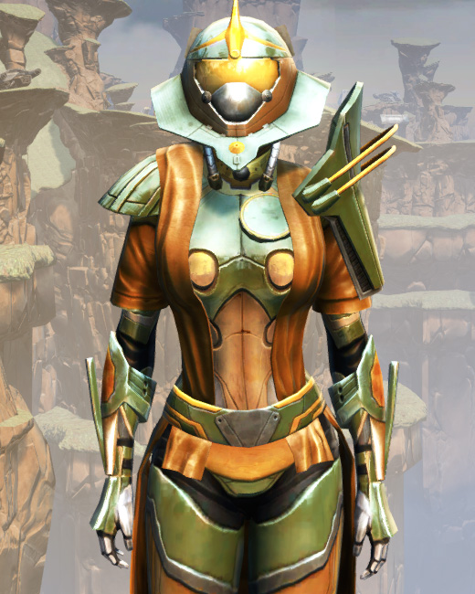 War Hero War Leader Armor Set Preview from Star Wars: The Old Republic.