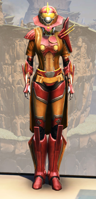 War Hero Weaponmaster (Rated) Armor Set Outfit from Star Wars: The Old Republic.