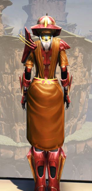 War Hero Weaponmaster (Rated) Armor Set player-view from Star Wars: The Old Republic.