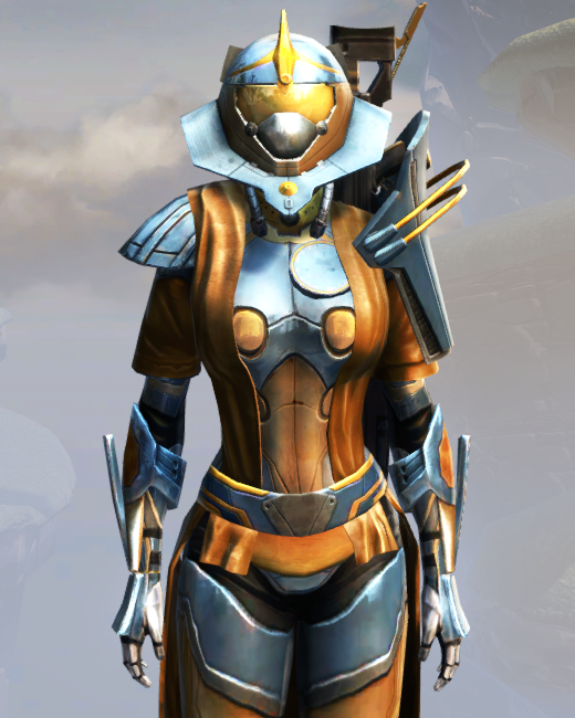 War Hero Weaponmaster Armor Set Preview from Star Wars: The Old Republic.
