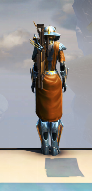 War Hero Weaponmaster Armor Set player-view from Star Wars: The Old Republic.