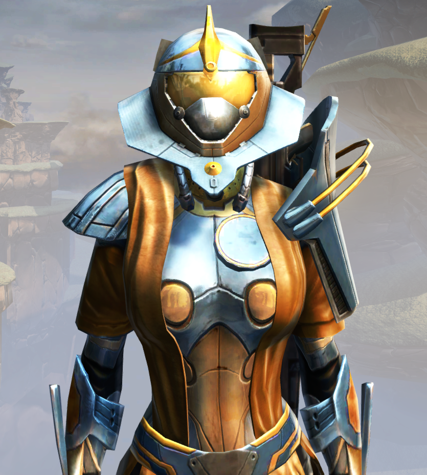 War Hero Weaponmaster Armor Set from Star Wars: The Old Republic.