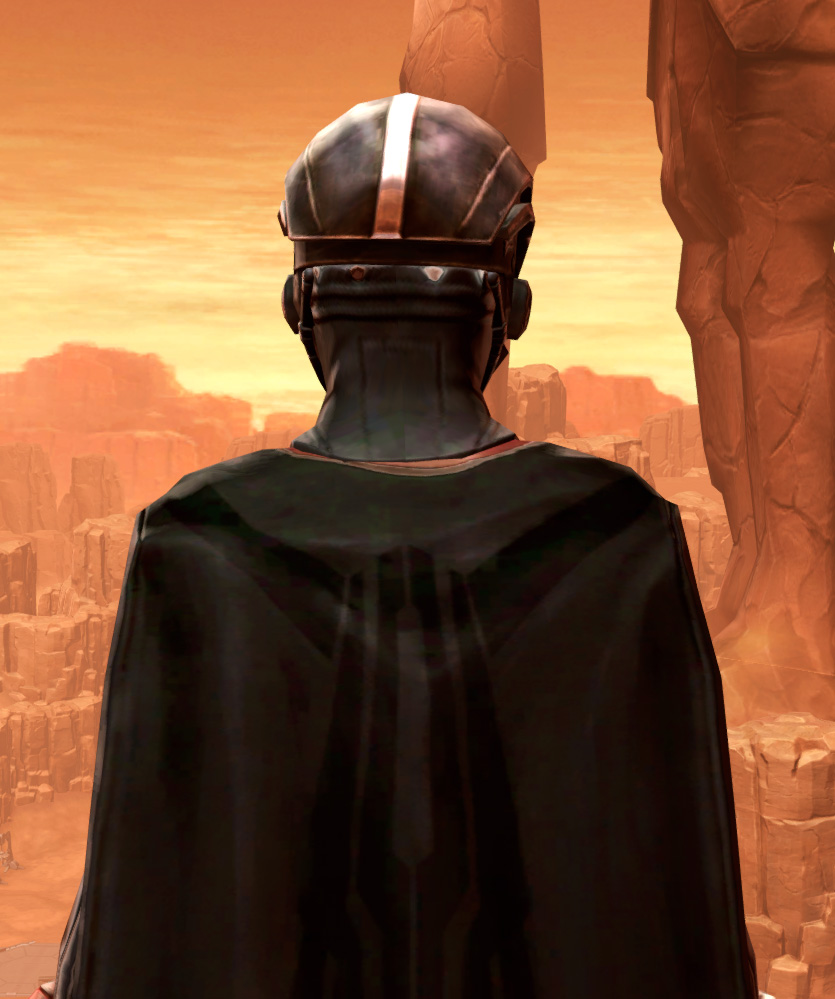 Warlord Elite Armor Set detailed back view from Star Wars: The Old Republic.