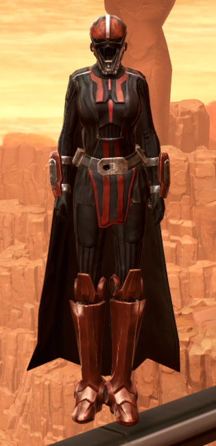 Warlord Elite Armor Set Outfit from Star Wars: The Old Republic.