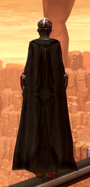 Warlord Elite Armor Set player-view from Star Wars: The Old Republic.