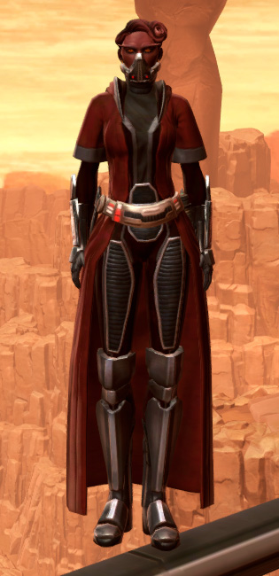 Warlord Armor Set Outfit from Star Wars: The Old Republic.