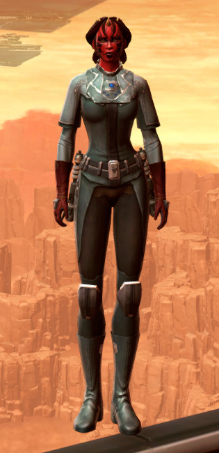 Warrior Armor Set Outfit from Star Wars: The Old Republic.
