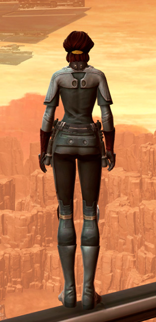 Warrior Armor Set player-view from Star Wars: The Old Republic.