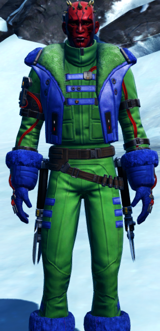 Winter Outlaw dyed in SWTOR.
