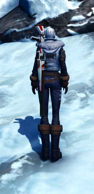 Winter Outlaw Armor Set player-view from Star Wars: The Old Republic.