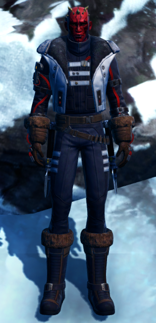 Winter Outlaw Armor Set Outfit from Star Wars: The Old Republic.