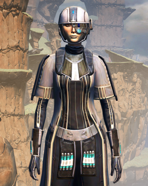 X-3 Techmaster Armor Set Preview from Star Wars: The Old Republic.