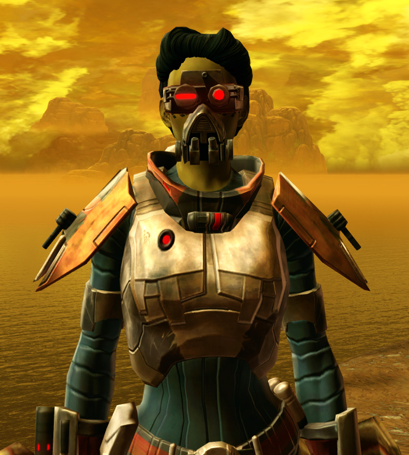 Xonolite Asylum Armor Set from Star Wars: The Old Republic.