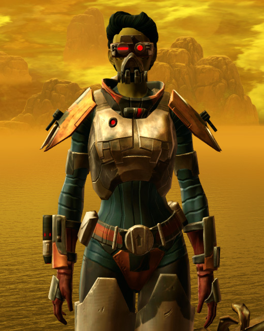 Xonolite Asylum Armor Set Preview from Star Wars: The Old Republic.