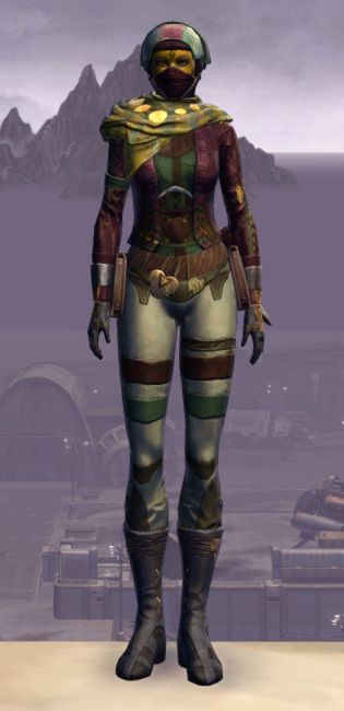 Xonolite Onslaught Armor Set Outfit from Star Wars: The Old Republic.
