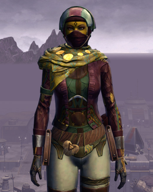 Xonolite Onslaught Armor Set Preview from Star Wars: The Old Republic.