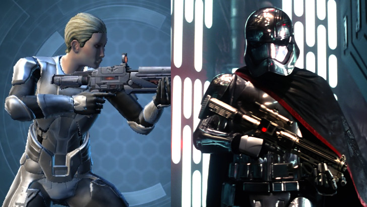 Captain Phasma Swtor Outfit And Character Customization