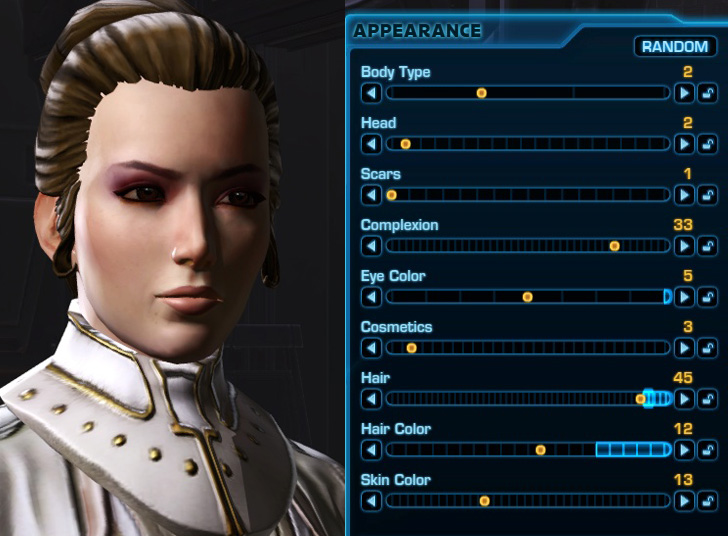 How To Look Like Rey In Swtor Character Customization And Outfit